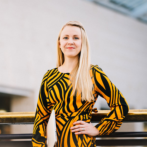Blogin kirjoittaja Susanna Korkiatupa, Loistava Sisältötoimisto.